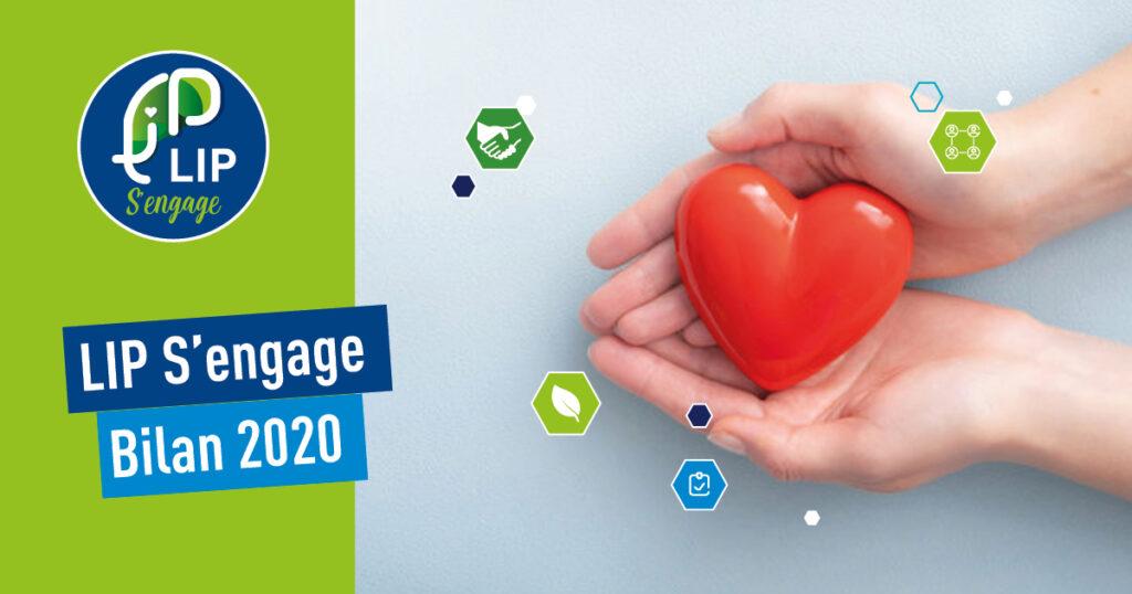 Bilan du fonds de dotation LIP S'engage en 2020